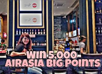 win airasia big points at earthingorgeous
