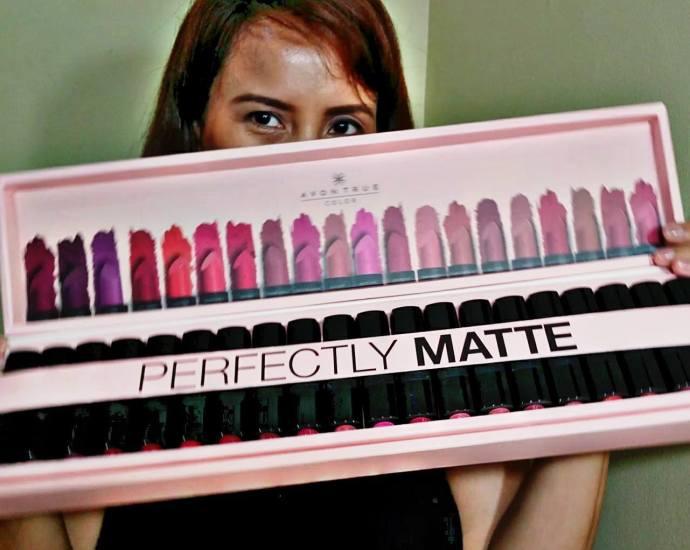 avon true match perfectly match lipsticks