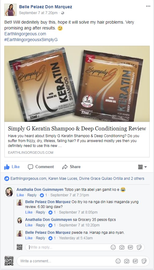 symply g shampoo review