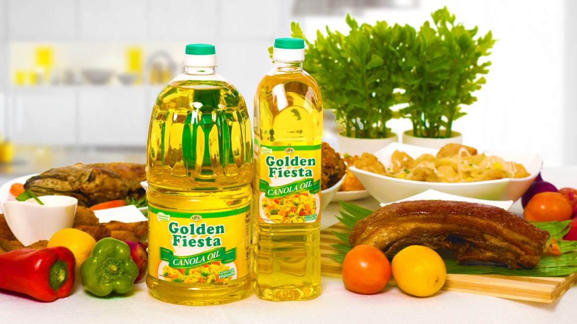 Golden Fiesta Canola Oil: A Rich Source of Cholesterol-Reducing 'Phytosterol'