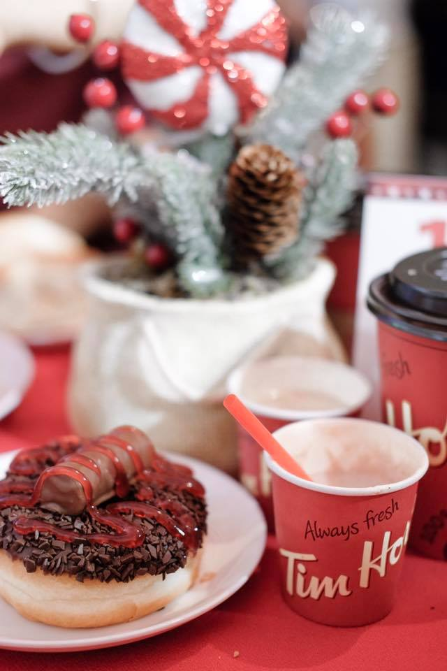Tim Hortons #WarmWishes Holiday 2017 Menu