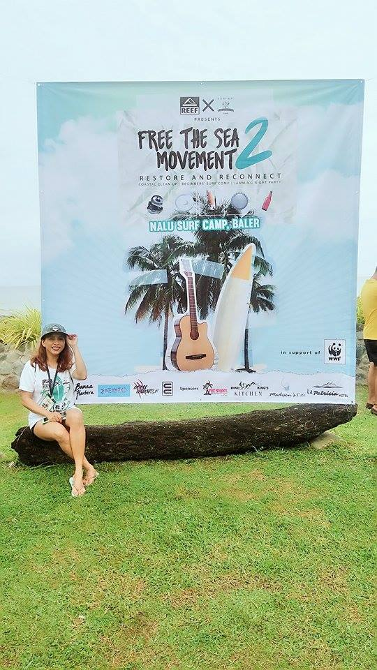 coastal cleanup drive with REEF and WWF