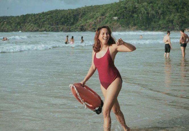 Bae-watch vibe at Nagtabon Beach Puerto Princesa Palawan