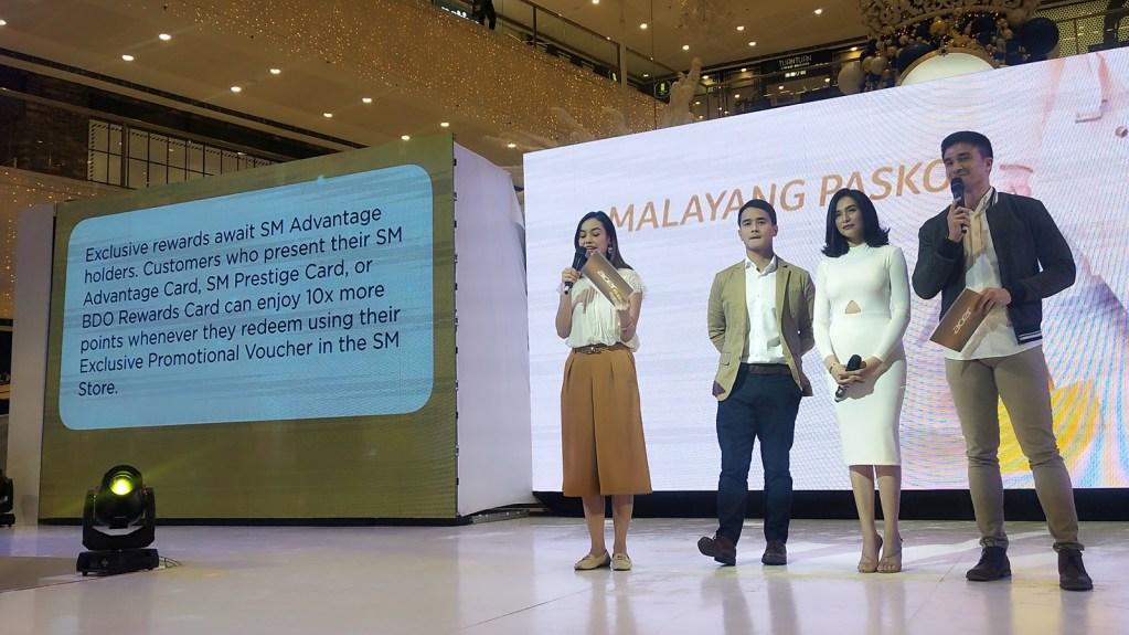 Acer #MalayangPasko event at SM Mega Fashion Hall