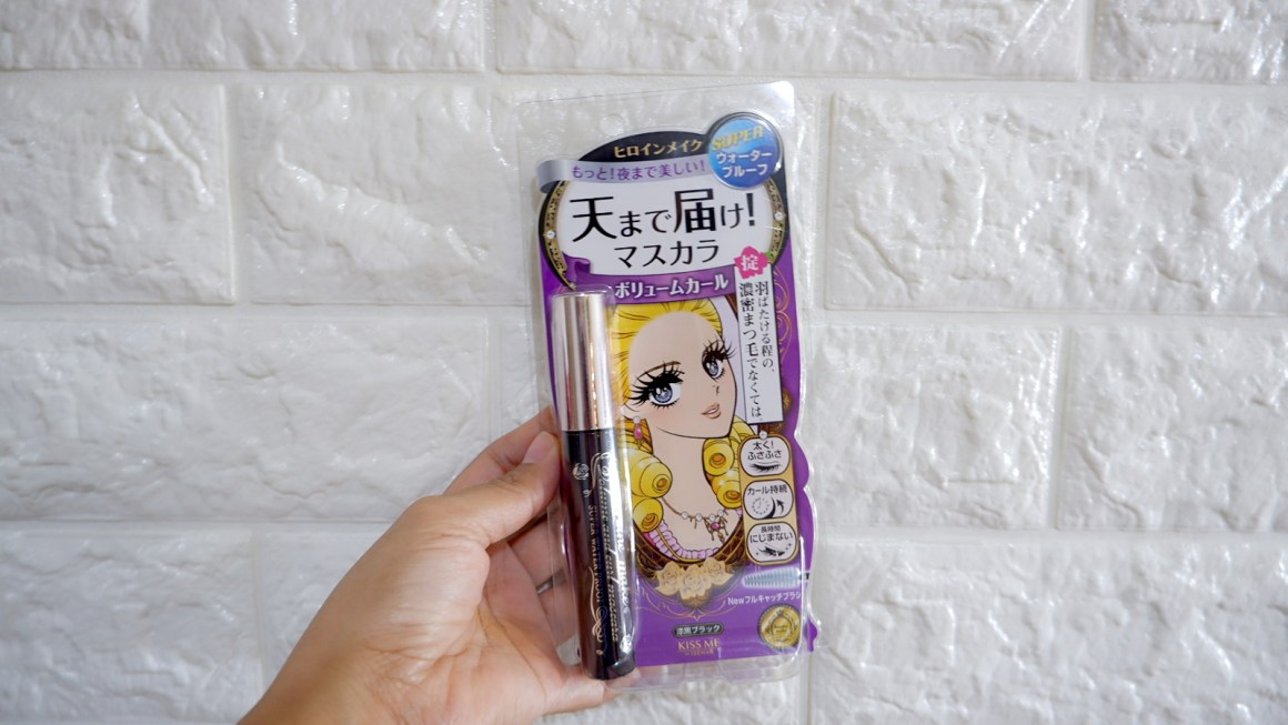 Kiss Me Isehan Heroine Make Volume & Curl Waterproof Mascara Review