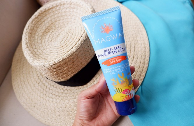 Magwai Reef-Safe Sunscreen Lotion Review First Impression