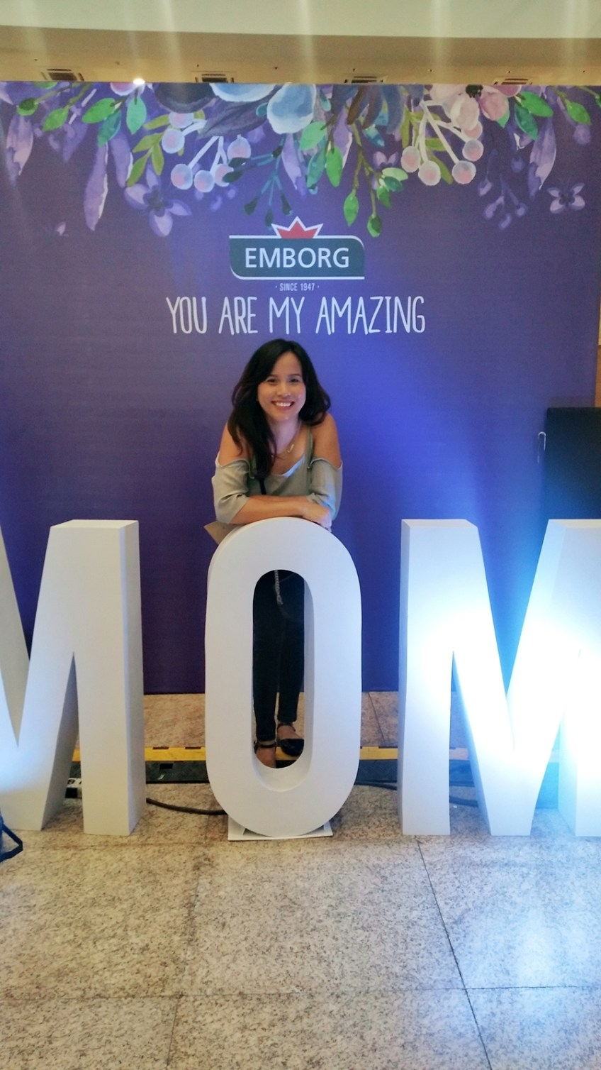 Emborg Amzing Moms event