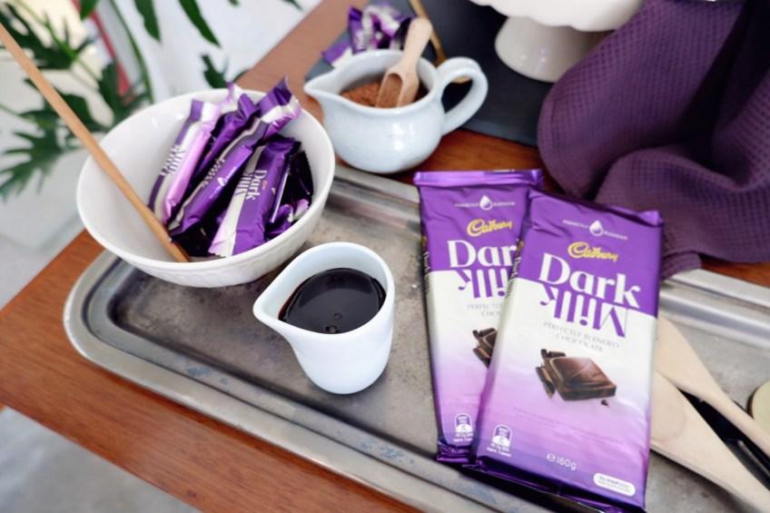 Cadbury Perfectly Blended Dark Milk Chocolate Flavors