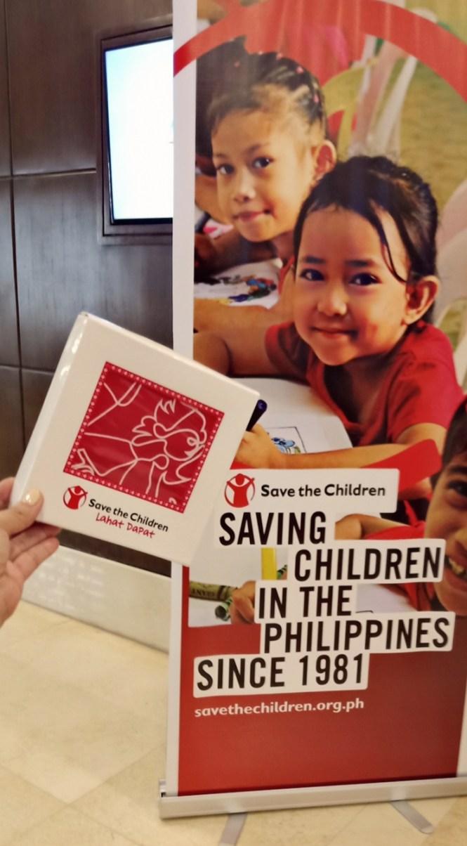 Save the Children bandana #LahatDapat