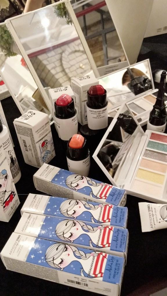 Amway Artistry Studio Parisian Style Edition Makeup Line