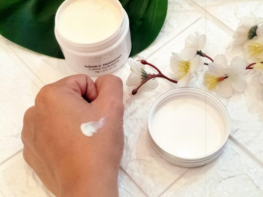 Grace Cosmetics Infiniti-C Moisturizer Review