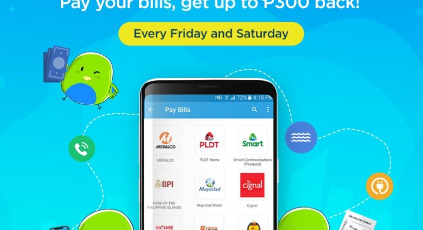 Pay your bills with PayMaya
