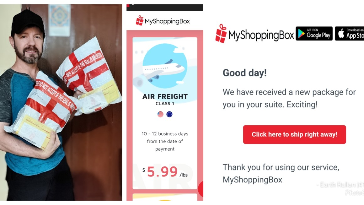 My Shopping Box Review Philippines — Get Item Bought in US or Europe Shipped  Door-to-Door
