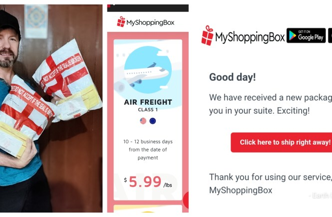 My shopping box Philippines review