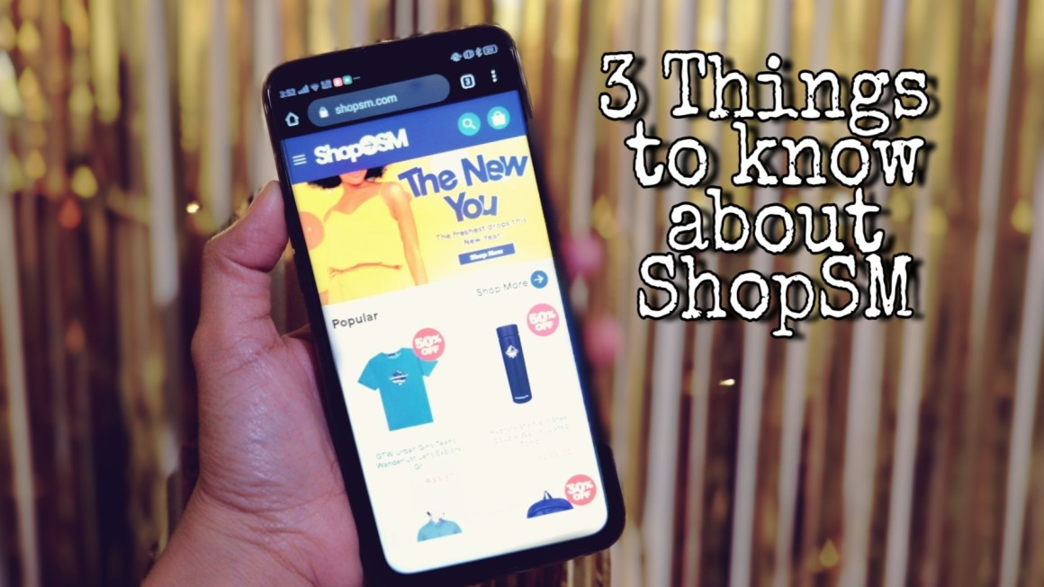 3 Things You Need to Know About Shopping Online at ShopSM