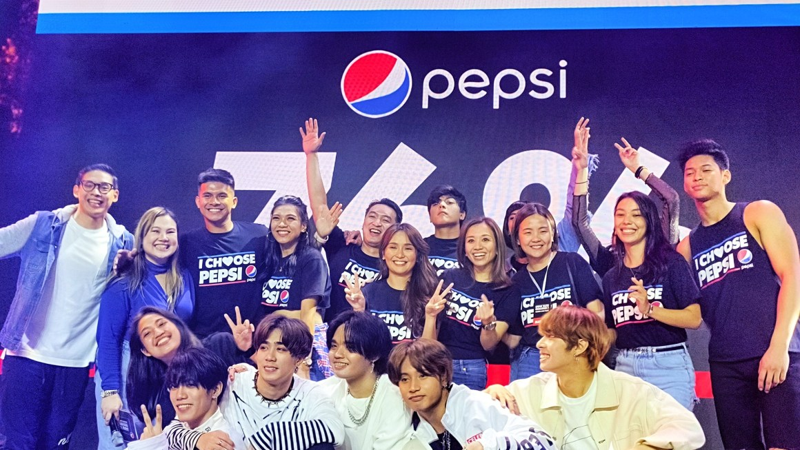 Pepsi Taste Challenge Kicks off with Kathryn Bernardo joining Daniel Padilla as Main Endorsers + Winning Trinoma Leg for Most Preferred Soda