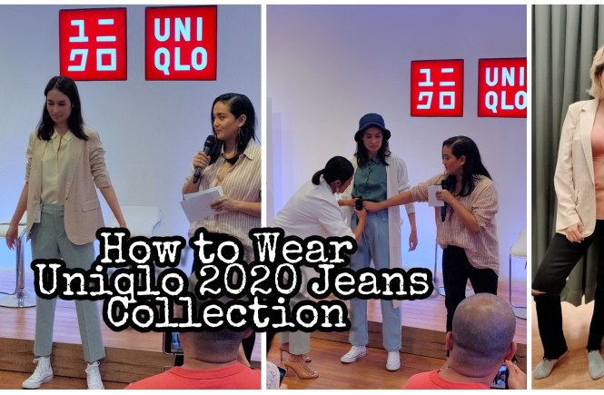 Uniqlo 2020 Jeans Collection