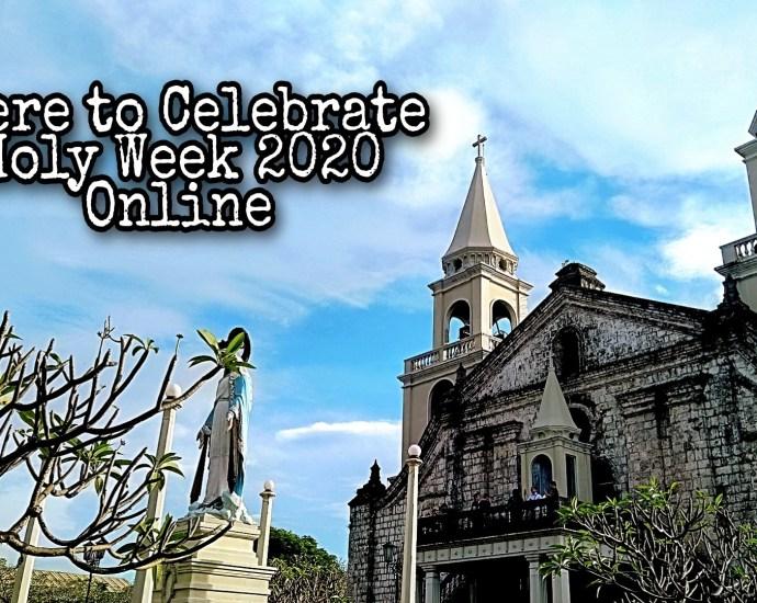 Celebrate Holy Week Online