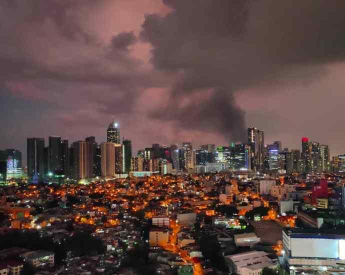 In Photos:. Metro Manila Cityscape During the Lockdown