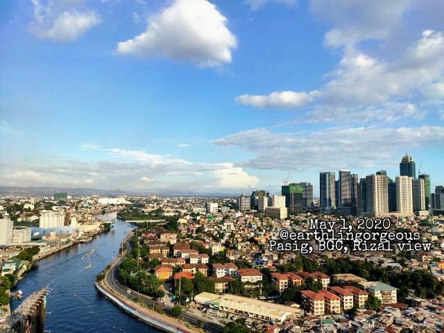 Metro Manila Skyline May 1, 2020