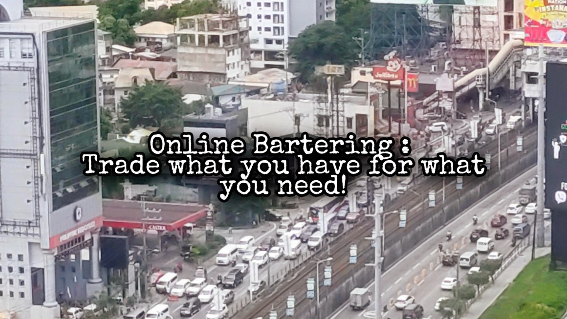 Online Bartering:. Trading what you Have for what you Need in a Post Apocalyptic World 2020