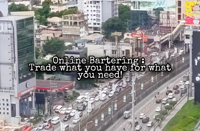 Online Bartering:. Trading what you Have for what you Need in a Post Apocalyptic World