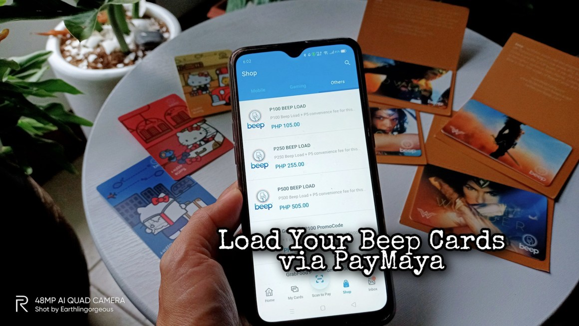 Commute Safely — Load Up Your Beep Cards via PayMaya
