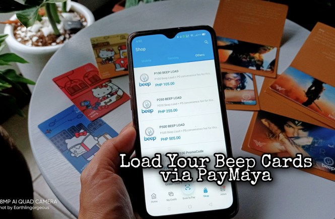 Load Beep Cards via PayMaya