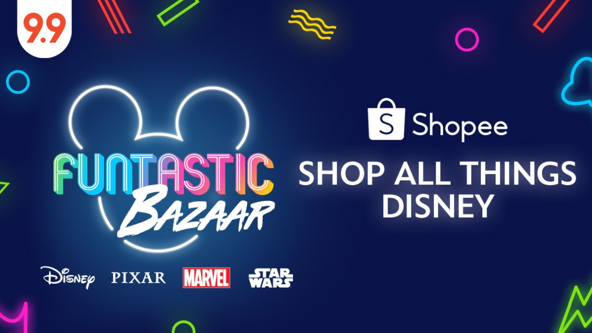 Shop all things Disney at Shopee