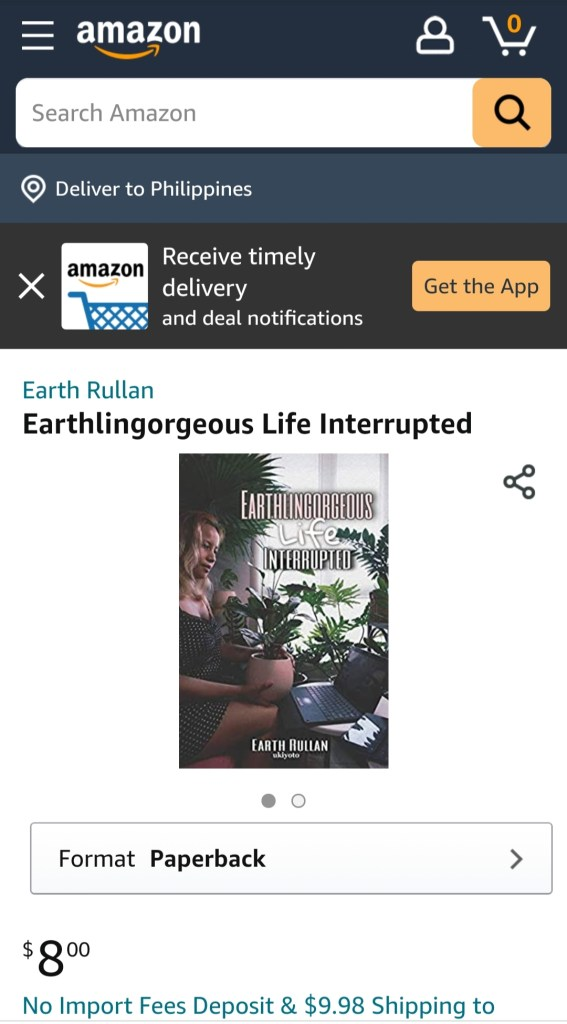 Before 40 Earthlingorgeous Life Interrupted Book