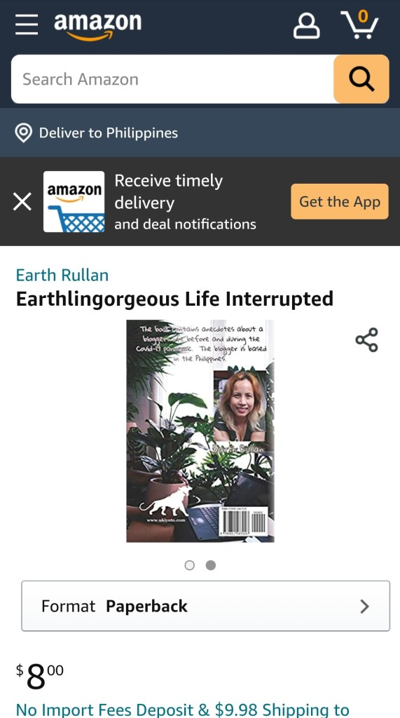 Earthlingorgeous Life Interrupted Book
