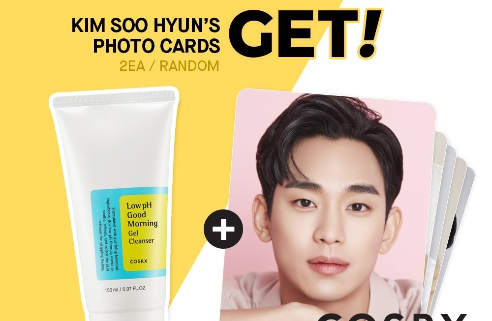 Kim Soo Hyun Most Recommended 4 COSRX products to Score with a 60% off + free gift only on Shopee