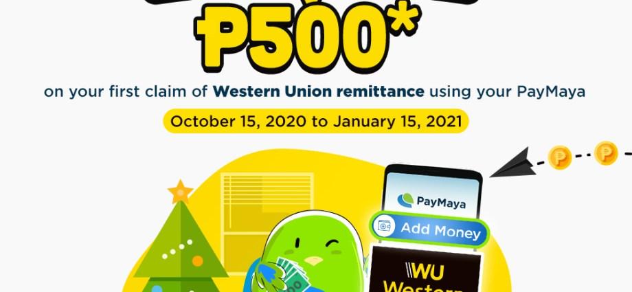 Western Union Paymaya
