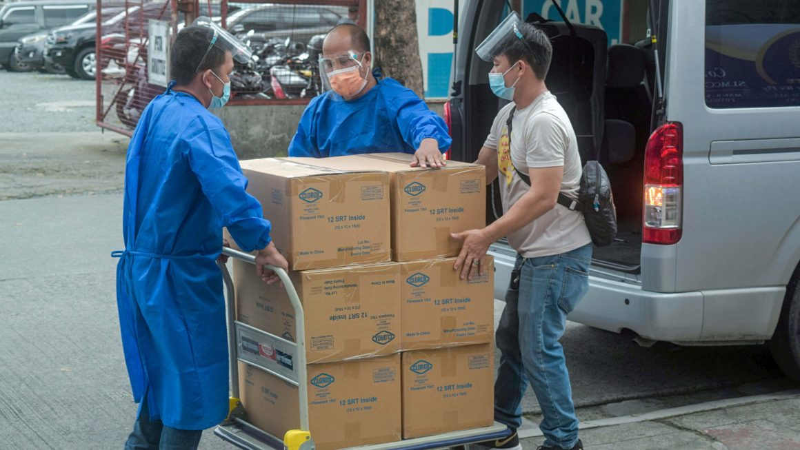 Clorox Donated Disinfecting Wipes to 5 Major Hospitals in Metro Manila