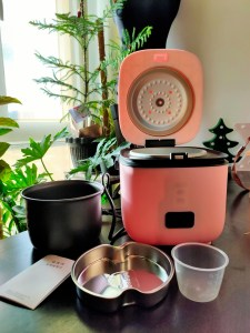 1.2L pink rice cooker
