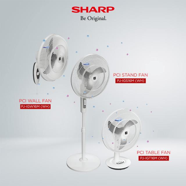 Sharp Plasmacluster Ion Electric Fan