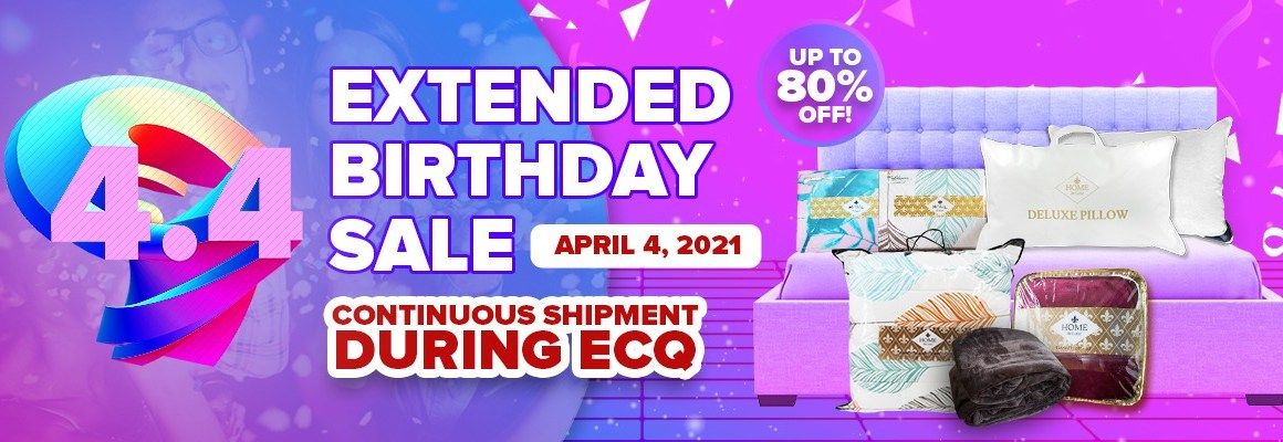 4.4 Lazada Birthday Extended Sale with More Amazing Deals and Free Shipping Offers