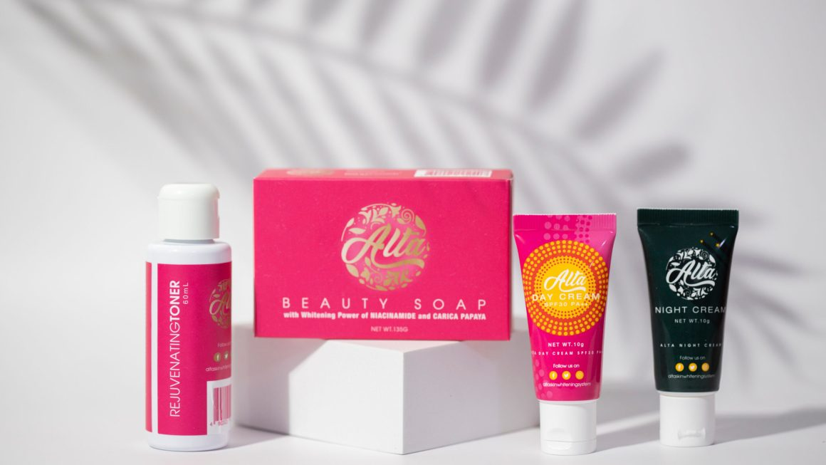 Alta Skin Whitening System launches with 4 products for bright days and complexion