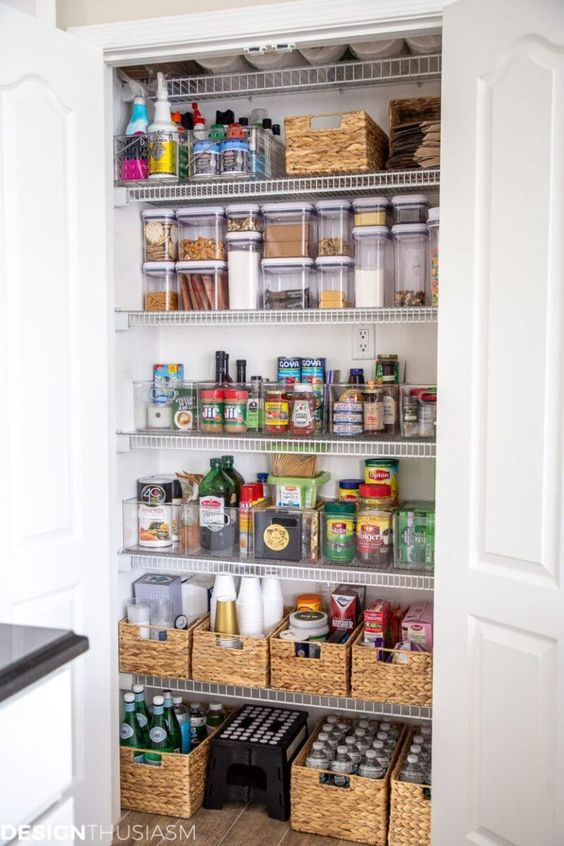 home pantry home features