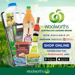 WoolWorths GoRobinsons app