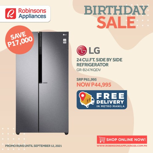 home appliances robinsons appliances birthday sale refrigerator