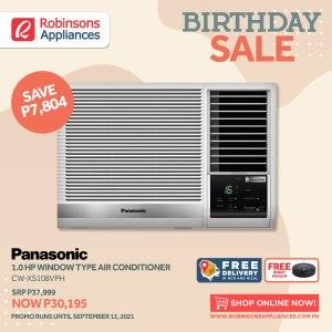 robinsons appliances birthday sale aircon electricfan purifier