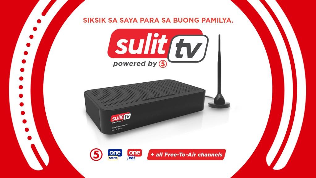 Sulit TV5 Digitla TV Box