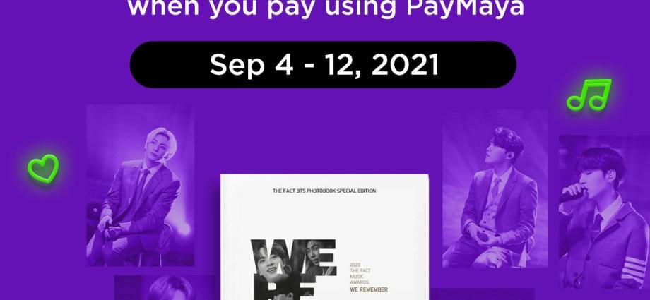 The Fact BTS Photobook Paymaya