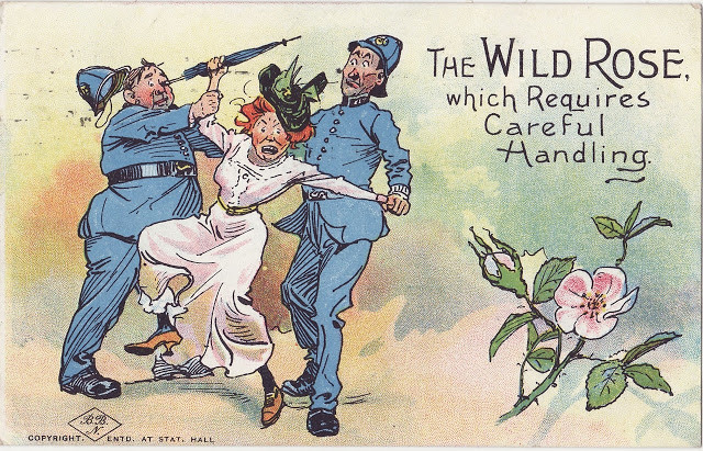 These Vintage Propaganda Postcards Warn Men About The