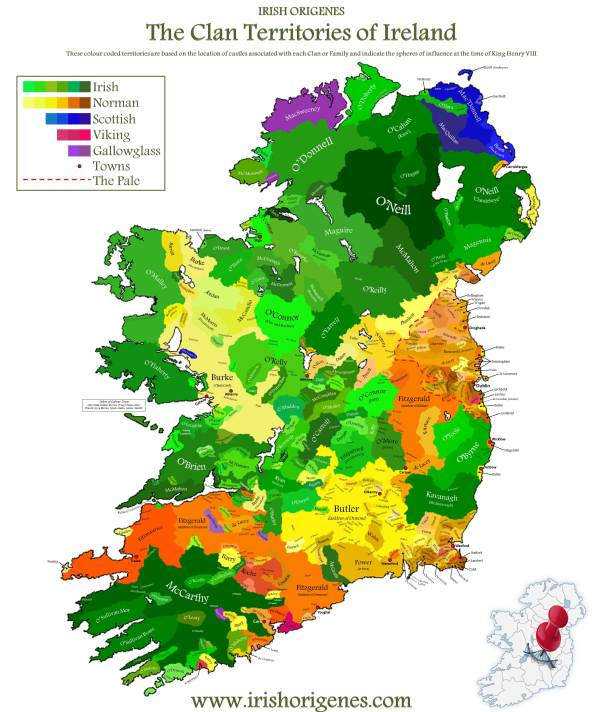 The Clans of Ireland & Scotland | Earthly Mission