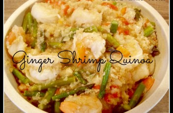 Ginger Shrimp Quinoa