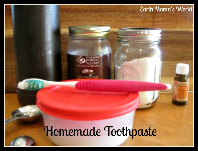 Homemade Toothpaste