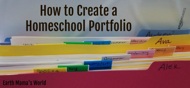 How to Create a Homeschool Portfolio