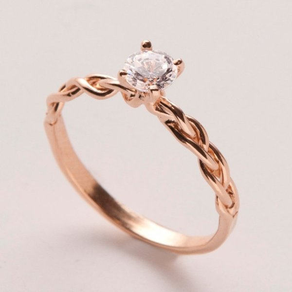 Engagement Rings On Etsy Wedding and Bridal Inspiration